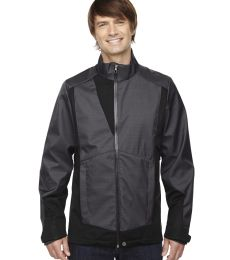 88686 Ash City - North End Sport Blue Men's Commute Three-Layer Light Bonded Two-Tone Soft Shell Jacket with Heat Reflect Techno