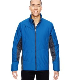 88696 Ash City - North End Sport Red Men's Immerge Insulated Hybrid Jacket with Heat Reflect Technology