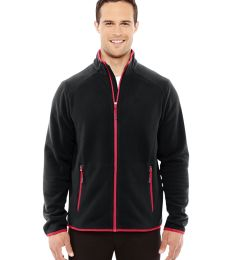 88811 Ash City - North End Sport Red Men's Vector Interactive Polartec Fleece Jacket