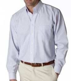 8970 UltraClub® Men's Classic Wrinkle-Free Blend Long-Sleeve Oxford Woven Shirt