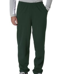 974 Jerzees Adult NuBlend® 50/50 Open-Bottom Sweatpants with Pockets
