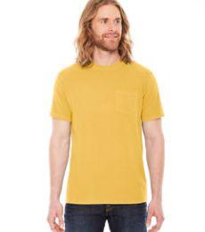AP201 Authentic Pigment Men's XtraFine Pocket T-Shirt