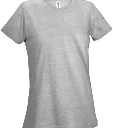 12500 Delta Apparel Ladies 30/1's Soft Spun Tee 4.3 oz