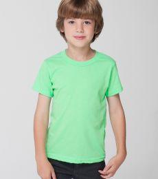 BB101 American Apparel Kids Poly-Cotton Short Sleeve T-Shirt