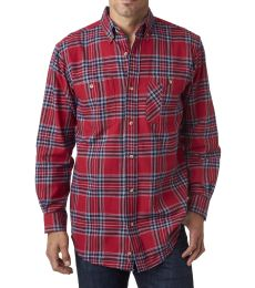 BP7001 Backpacker Men's Yarn-Dyed Flannel Shirt