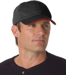 3617 Bayside Unconstructed Washed Sandwich Cap