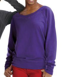 3752 LA T Junior Slouchy Pullover
