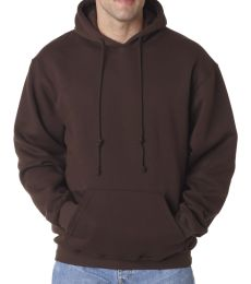 B960 Bayside Adult Hooded Blended Pullover Fleece