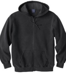 221210 Ash City Men's Vintage Hooded Zip Jacket