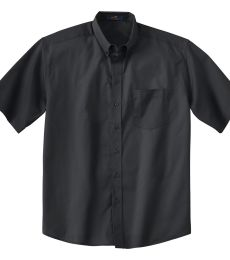 87016T Ash City Men's Tall Short Sleeve Easy Care Twill Shirt