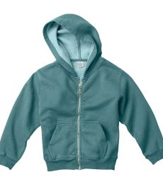 C7755 Comfort Colors Drop Ship Youth 10 oz. Garment-Dyed Full-Zip Hooded Sweatshirt