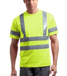 CornerStone ANSI Class 3 Short Sleeve Snag Resistant Reflective T Shirt CS408