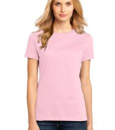 District Made 153 Ladies Perfect Weight Crew Tee DM104L