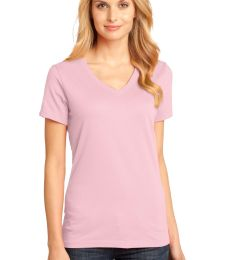 District Made 153 Ladies Perfect Weight V Neck Tee DM1170L