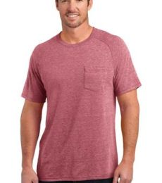 DM340 District Made™ Mens Tri-Blend Pocket Tee