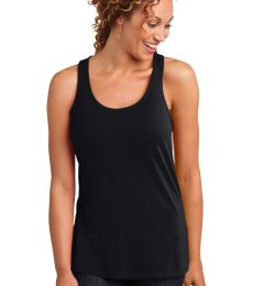 DM420 District Made™ Ladies Solid Gathered Racerback Tank