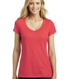 DM456 District Made Ladies Shimmer V-Neck Tee