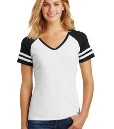 DM476 District Made Ladies Game V-Neck