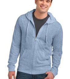 DT1100 District® Young Mens Lightweight Jersey Full-Zip Hoodie