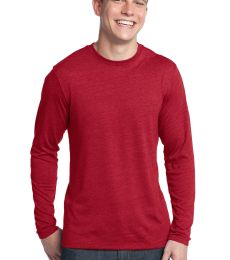 District Young Mens Textured Long Sleeve Tee DT171