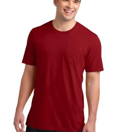 DT6000P District® Young Mens Very Important Tee® with Pocket