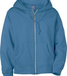 121210 Ash City Ladies' Vintage Hooded Zip Jacket