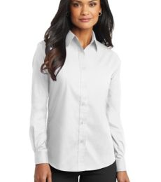 Port Authority Ladies Long Sleeve Value Poplin Shirt L632