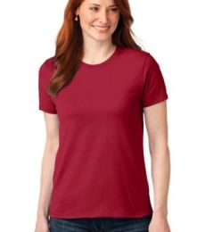 LPC55 Port & Company® Ladies 50/50 Cotton/Poly T-Shirt