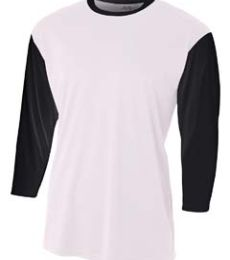 N3294 A4 Drop Ship Men's 3/4 Sleeve Utility Shirt