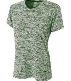 NW3296 A4 Drop Ship Ladies' Space Dye Tech T-Shirt