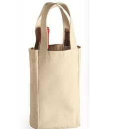 1726 Liberty Bags - Double Bottle Wine Tote