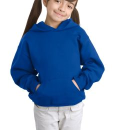 P470 Hanes Youth EcoSmart Pullover Hooded Sweatshirt