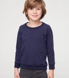 RSA5154 American Apparel Kids California Fleece Raglan