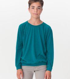 RSATR294 Youth Tri-Blend Raglan Pullover