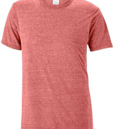 14600 Delta Apparel Adult 30/1's Snow Heather Tee