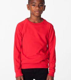 RSA5254 American Apparel Youth California Fleece Raglan