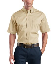 CornerStone Short Sleeve SuperPro Twill Shirt SP18