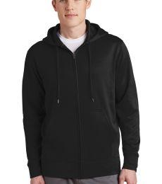 ST238 Sport-Tek Sport-Wick Fleece Full-Zip Hooded Jacket