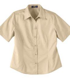 77013 Ash City Ladies' Short Sleeve Shirt With Teflon®
