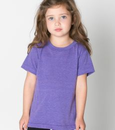 TR101 American Apparel Kids Tri-Blend Short Sleeve T