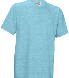 14900 Delta Apparel Youth 30/1's Snow Heather Tee