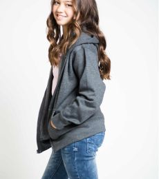 Y2700 Cotton Heritage Spokane Unisex Youth Zip Up Hoodie