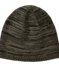 BA525 Big Accessories Two-Tone Marled Beanie