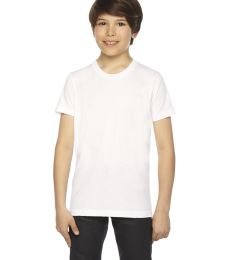 BB201W Youth Poly-Cotton Short-Sleeve Crewneck