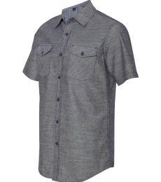 B9255 Burnside - Chambray Short Sleeve Shirt