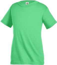 11736 Delta Apparel Youth Pro Weight Short Sleeve Tee