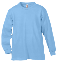 61070 Delta Apparel Youth Long Sleeve 5.2 oz. Tee