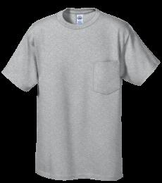 65732 Delta Apparel Adult Short Sleeve 6.0 oz. Pocket Tee