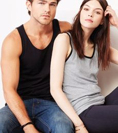 BELLA+CANVAS 3480 Unisex Cotton Tank Top