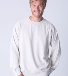 Cotton Heritage M2430 French Terry Crew Pullover